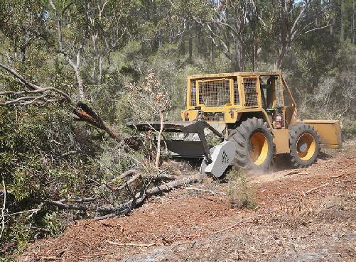 mulcere utilaj de biomasa