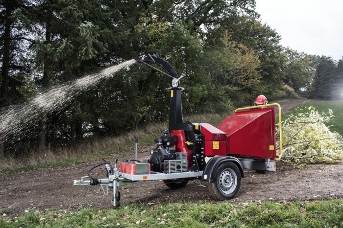 Tocator biomasa cu disc Linddana TP 130