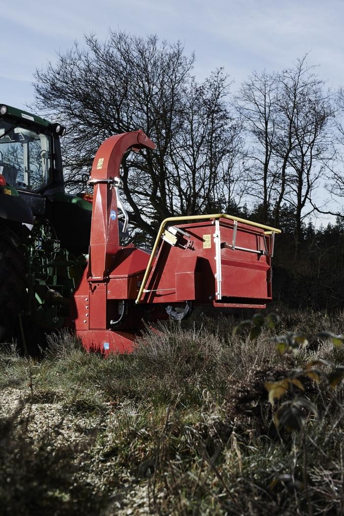 Tocator biomasa cu disc TP 200