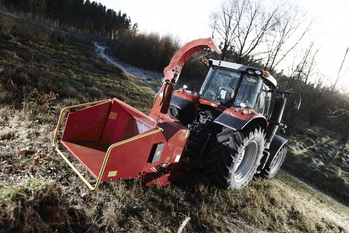 Tocator biomasa cu disc Linddana TP 250