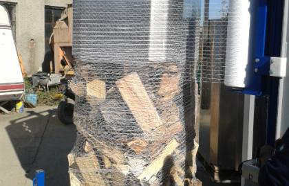 Sistem de ambalare lemn de foc