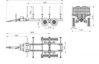 Semiremorca BMF 10T2 Pro