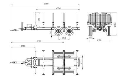 Semiremorca BMF 12T2 Pro