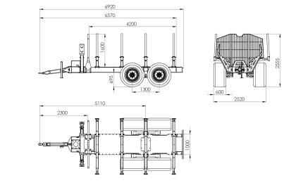 Semiremorca BMF 17T2 Pro
