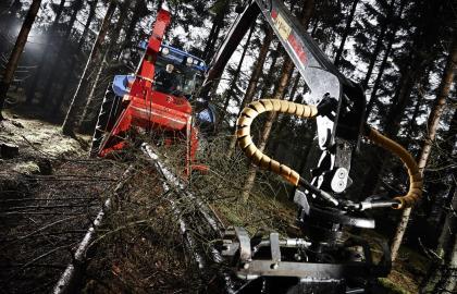 Tocator biomasa cu disc TP 320