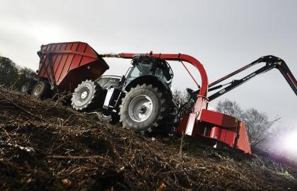 Tocator biomasa cu disc TP 400